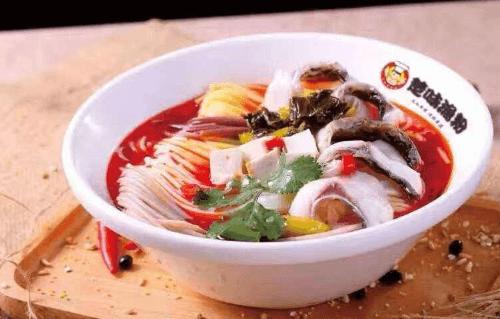 一碗楚味鱼粉