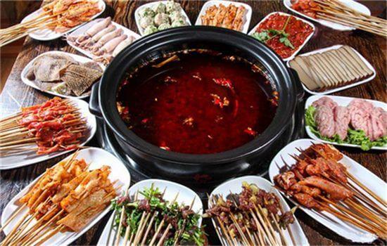 旺巴蜀小郡肝串串香的小套餐