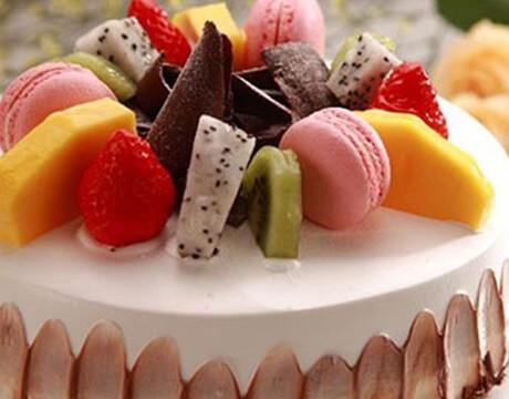 王子蛋糕的水果蛋糕