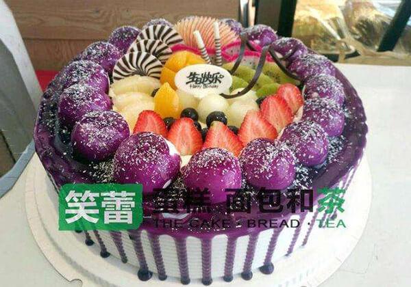 笑蕾蛋糕的紫薇蛋糕
