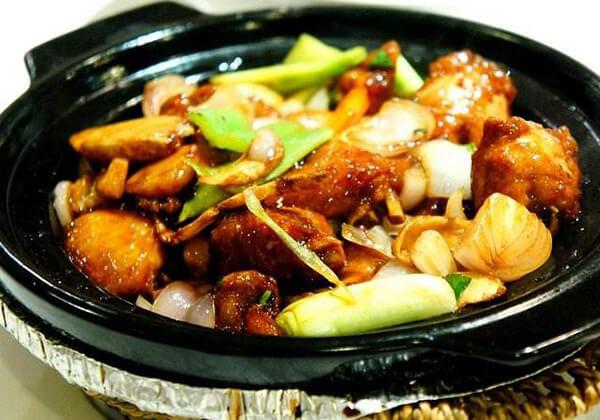 港丽茶餐厅的蒜香鸡