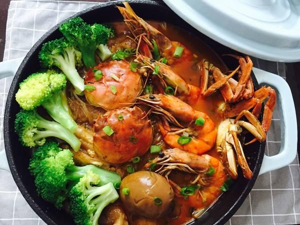 食打食肉蟹煲