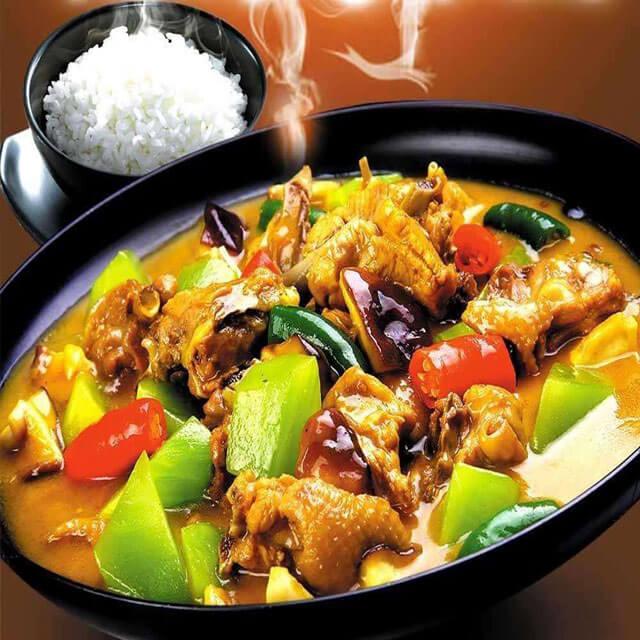 刘记黄焖鸡米饭