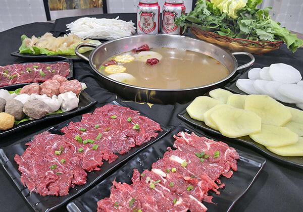 汕牛海记牛肉火锅的聚会套餐