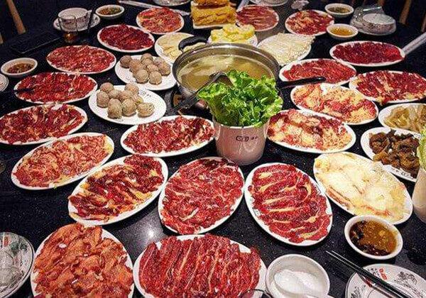 汕牛海记牛肉火锅的豪华套餐