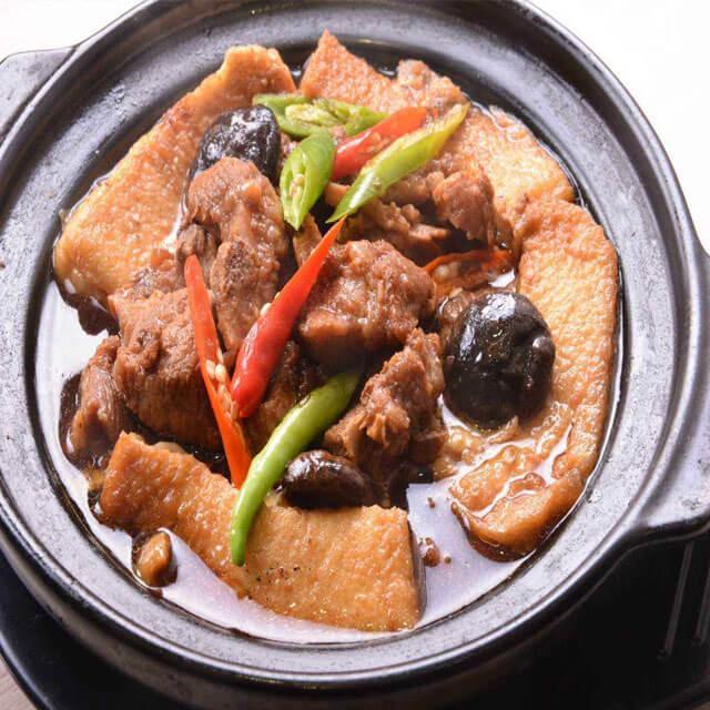 林记黄焖鸡米饭