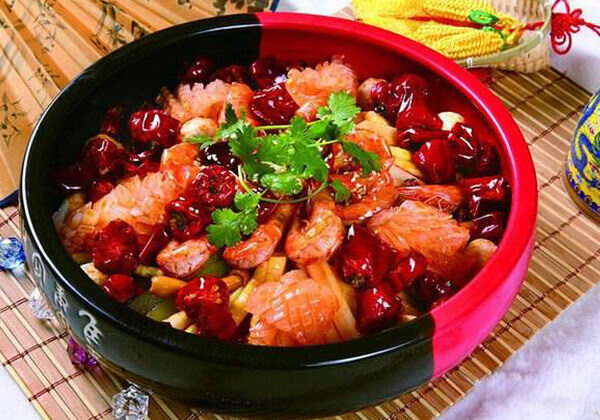 艾尚麻辣香锅的美食