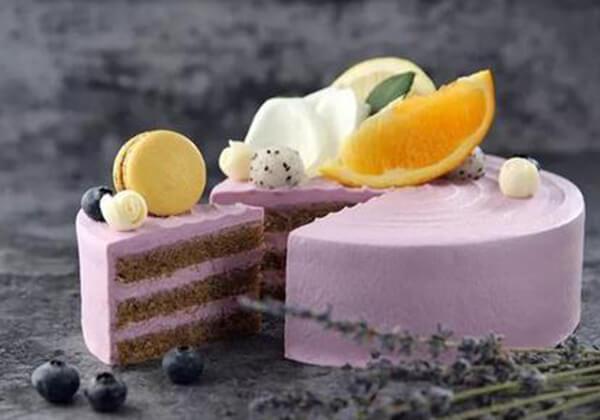全家蛋糕的香芋水果蛋糕