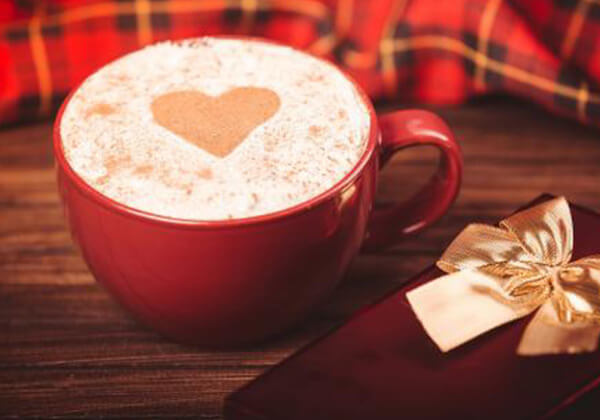 90度炭烧咖啡的七夕咖啡
