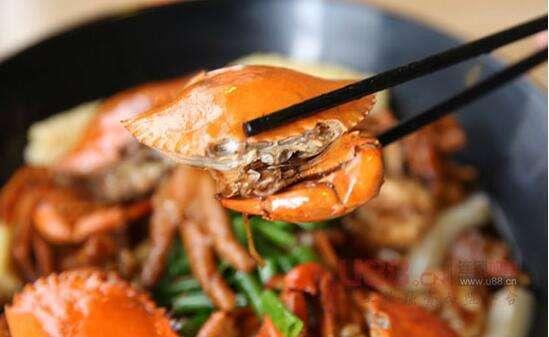 萌煲煲肉蟹煲