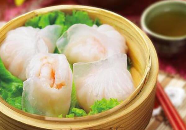 琛哥茶餐室的虾饺