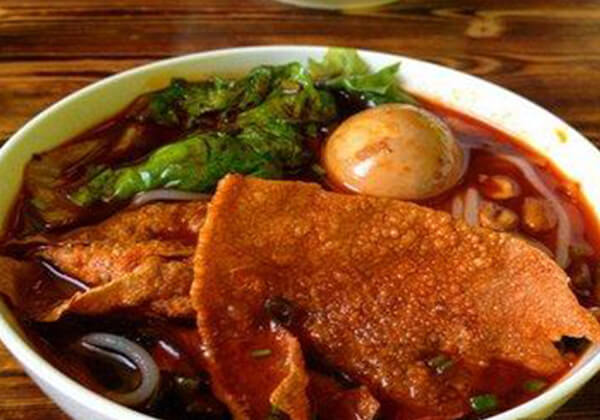 螺阿宝柳州螺蛳粉的经典口味