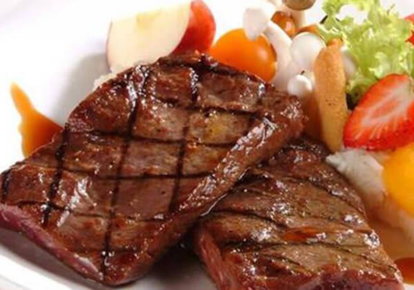 香狮牛排的美食