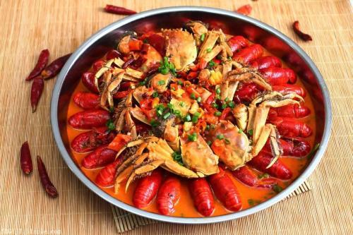 北景园肉蟹煲