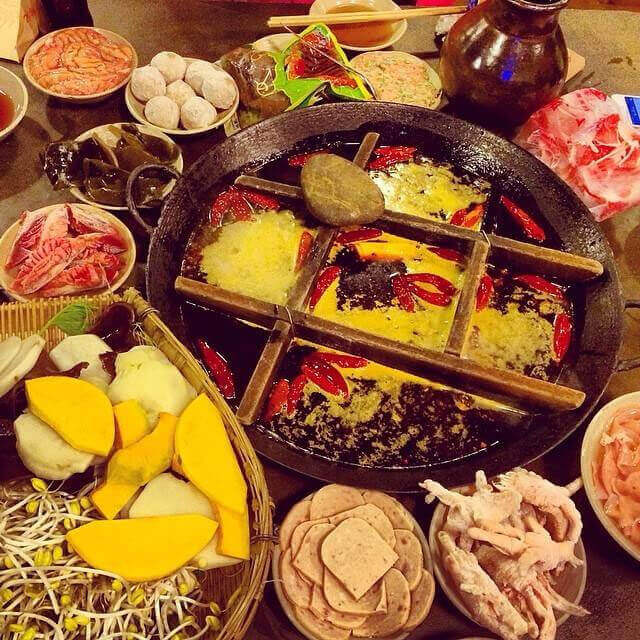 锦厨海鲜自助火锅