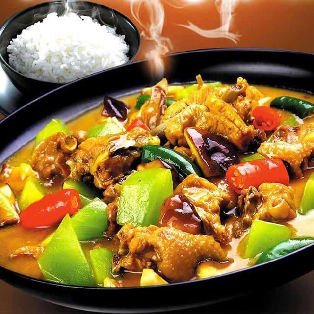 老刘家黄焖鸡米饭
