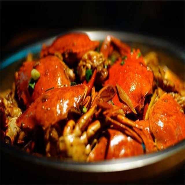 炫蟹肉蟹煲
