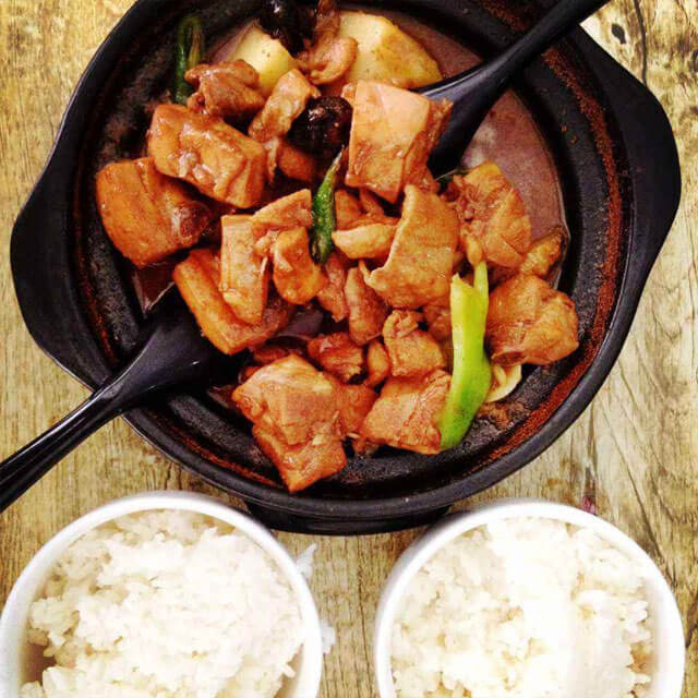 吉祥斋黄焖鸡米饭