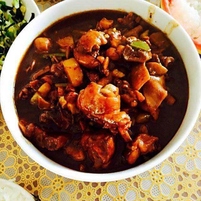 焖天下黄焖鸡米饭