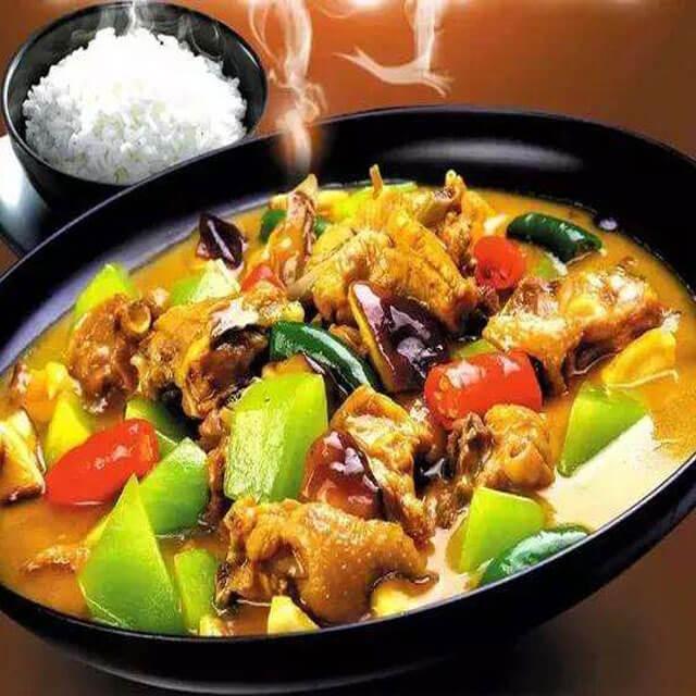 发财鸡黄焖鸡米饭