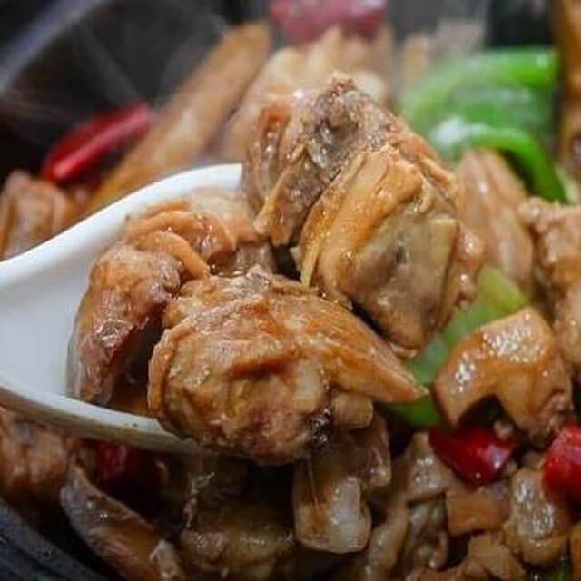 甲甲旺黄焖鸡米饭