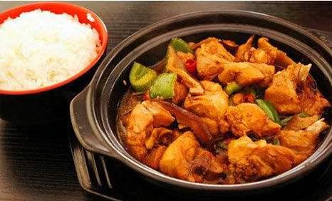 老李家黄焖鸡米饭