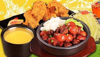 可口人家中式快餐