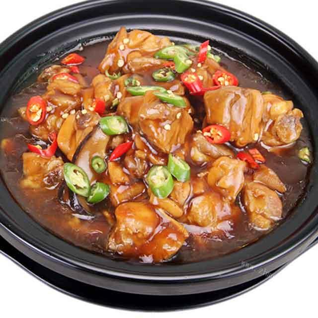 德味圆黄焖鸡米饭