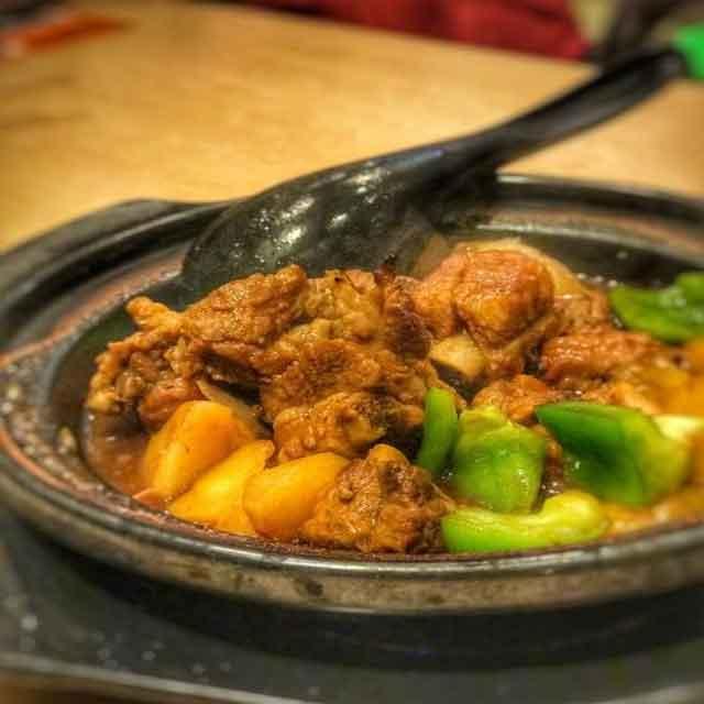哈都乐黄焖鸡米饭