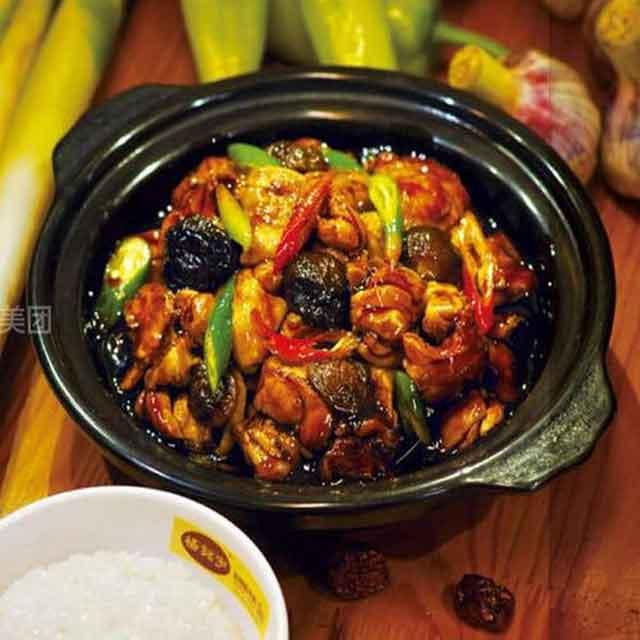 食全食美黄焖鸡米饭