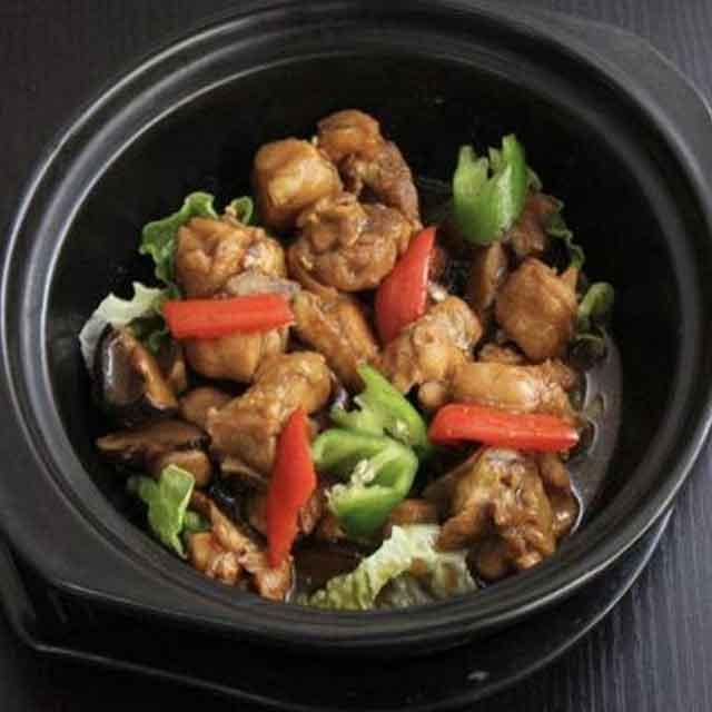 姜辉黄焖鸡米饭