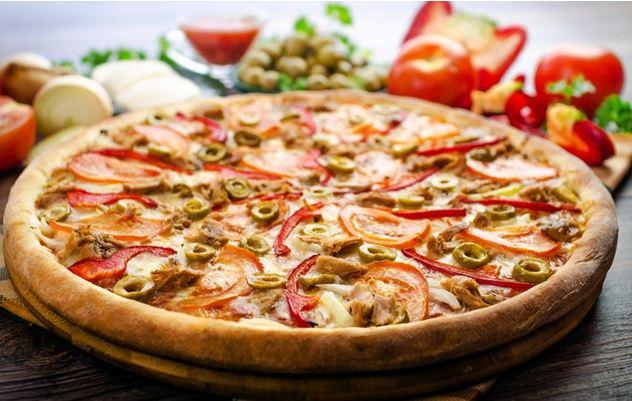意伦卡现烤披萨