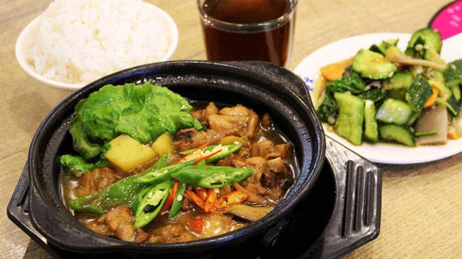 景浩黄焖鸡米饭加盟